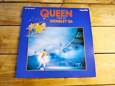 Queen Live At Wembley Pal Ld Japan With Laserdisc Collector Original 1990
