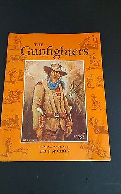 Vintage The Gunfighters Paintings and Text by Lea F. McCarthy 1959