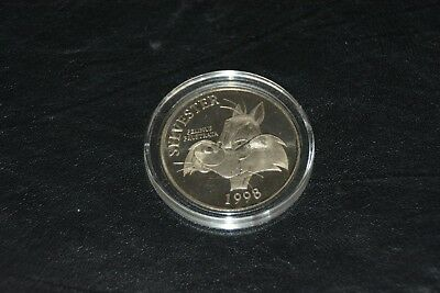 Sylvester The Cat Collectors Rare Silver Nickel Coin 1998
