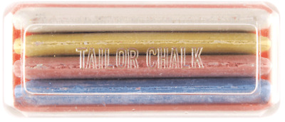 Hemline PB.245 | 20 Cases Tailor's Chalk Each Case Has 4 Different Colour Chalks