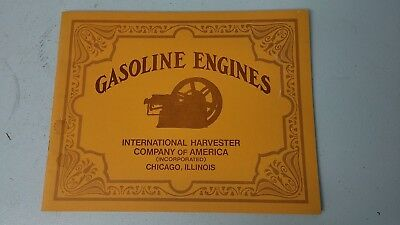 International Harvester Gasoline Engines Catalog Farm Tractor Advertising Book