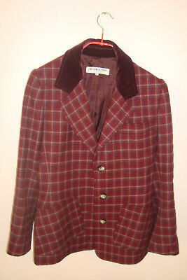 Yves Saint Laurent - Giacca Rossa - Vintage - Made In France - Rive Gauche Rare