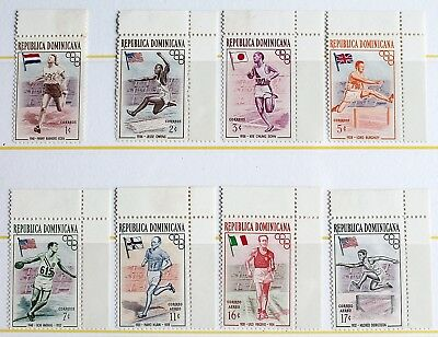 Dominican Republic – 1957 Olympic Games – 1st Issue Un.Mint (MNH) (R3)