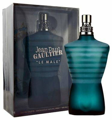 Jean Paul Gaultier Le Male 200ml Eau de Toilette Spray Neu & Originalverpackt
