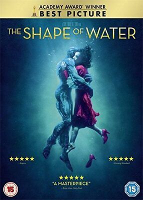 The Shape of Water  with Sally Hawkins New (DVD  2018)