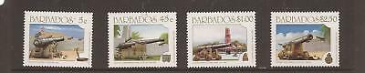 Barbados 1993 Cannons  Mnh Set Of Stamps