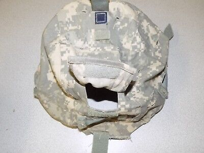 USGI S/M Small - Medium ACH Helmet Cover NVG IR ACU Military Camouflage