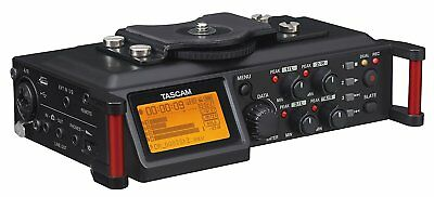 TASCAM 4-Channel Linear PCM Audio Recorder for DSLR and Video Cameras (DR-70D)