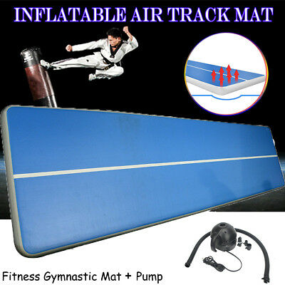 6x0.9 m Inflatable Gymnastics Cheerleading Air Track Floor Home Tumbling Gym Mat