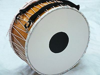 "Mugla 18 "" Turkish Percussion Davul Dhol Tupan Drum New"