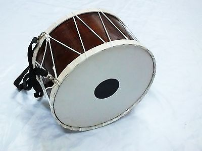 UNOKID: TURKISH PERCUSSION 31 x 18 cm KID SIZE DRUM DAVUL with STICK NEW