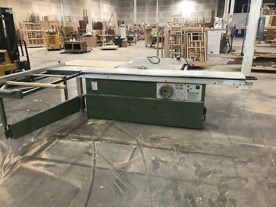 10' Sliding Table Saw - SCIM