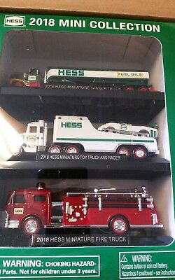 NEW 2018 HESS MINI 3 TRUCK COLLECTION ☆☆☆Sold out online ☆free shipping