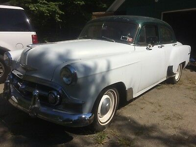 1953 Chevrolet Bel Air/150/210  1953 Chevy 150 Series 4 Door Sedan