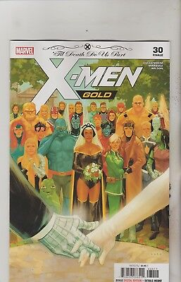 Marvel Comics X-Men Gold #30 August 2018 1St Print Nm