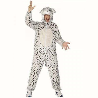 Dalmatian Puppy Dog Fancy Dress Costume Animal Adults Mens Stag Party Night