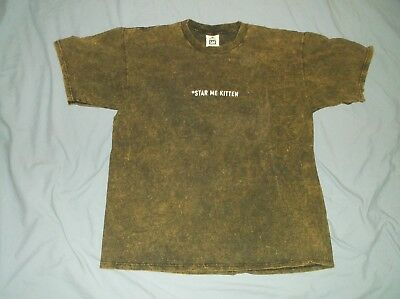 VTG 90's R.E.M. t-shirt Star Me Kitten XL Automatic For the People band alt rock