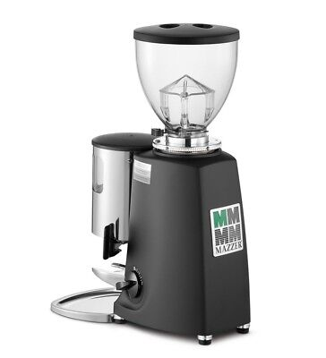 mazzer luigi espresso coffee grinder | black | manual