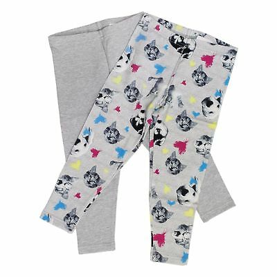 Kirkland Signature Cotton Leggings Pants for Girls - 2 Pack.               AB-16
