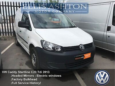 VW Caddy Startline C20 1.6TDI Fully Service History 1 Owner Clean & Tidy Van
