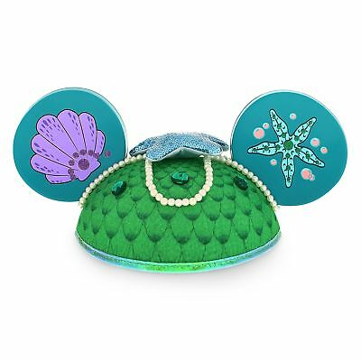 "Disney Parks The Little Mermaid ""Ariel"" Mickey Mouse Ears Hat - Disney Parks ..."