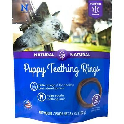 Puppy Chew Rings Small Dog Teething Treat Healthy Bone Natural Dental Toy Snack