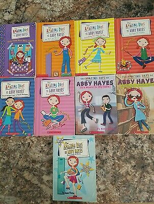 Lot 9 Amazing Days of Abby Hayes chapter books Teacher RL 3   AR sc Mazer