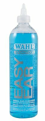 Wahl Easy Ear Cleaner Safe Effective Cleaning Solution for Dogs Cats and Horses
