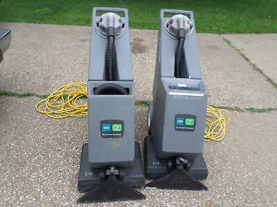 2 Carpet Cleaners Tennant Nobles EX-SC-716 Self-Contained Carpet Cleaners