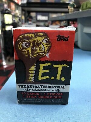 ET EXTRA TERRESTRIAL #1-87 & 10 STICKERS COMPLETE BASE SET NEAR MINT  #ns16-214