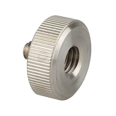 """US Ship Camvate Metal adapter Screw 1/4"""" to Tripod with Screw 3/8"""" for Cameras"""