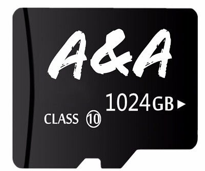 1TB Micro SD SDXC Class 10 Memory Card 1024GB Micro SD Card - IMMEDIATE SHIPMENT