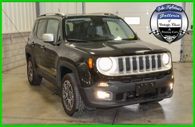 Jeep Renegade 4WD 4dr Limited 2016 4WD 4dr Limited Used 2.4L I4 16V Automatic 4WD SUV LCD