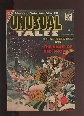 Unusual Tales 9 VG 4.0 * 1 Book Lot * 1955 Golden Age Steve Ditko Cover & Art!