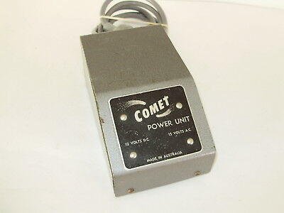 Comet transformer 15V Power supply only. OO scale. 2 rail DC analogue. No box