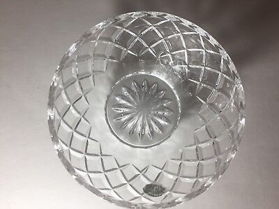 """Lenox Crystal 5"""" DIAMOND BOWL for Candy or Nuts. Sticker still on it."""