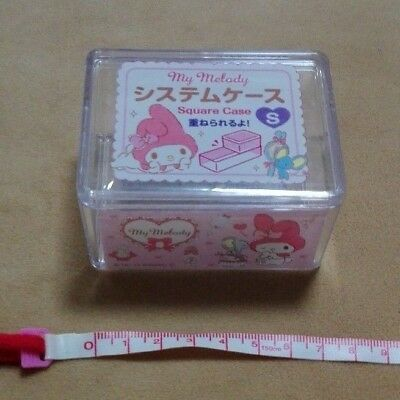 Sanrio My Melody Square Pile Up Case S Brand NEW Japan F/S
