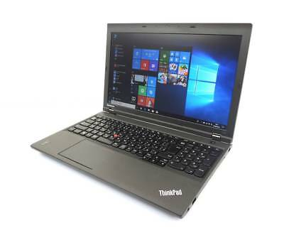 "Lenovo Thinkpad L540 Intel i5 4300m 2.60Ghz 8Gb Ram 500Gb HDD 15.6"" Win 10 Pro"