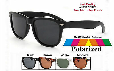 2x Mens Womens Way fay Retro Classic Vintage Sunglasses with Free Pouch-AU Store