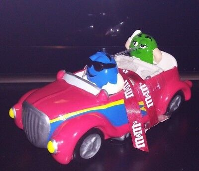 M&M's Hot Rod Convertible Ceramic Candy Dish by Galerie 2003.