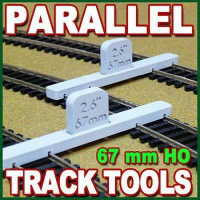 PROSES - PT-HO-02 - HO/OO Scale Parallel Track Tool 67mm