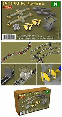PROSES - PP-11 - 5 Pack Tools Assortment for N Gauge