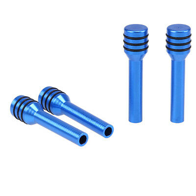 4pcs Blue Alloy Universal Car Vehicle Truck Interior Door Lock Knob Pull Pin
