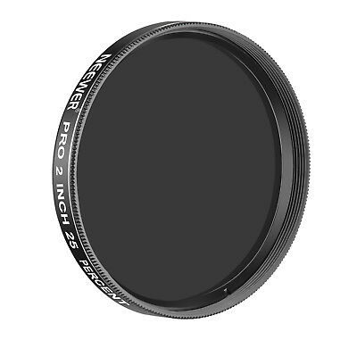 Neewer Pro 2-inches 25 Percent Transmission Neutral Density Moon Filter Black