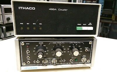 Preamplifier, Low Noise,  ITHACO 1201 w/ 488A Coupler