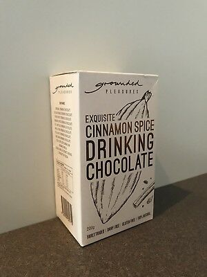 Grounded Pleasures Exquisite Cinnamon Spice Drinking Chocolate 200g