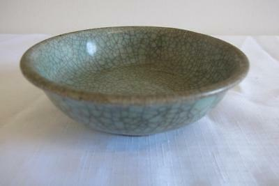 Antique Chinese Guan Crackle Glaze Bowl