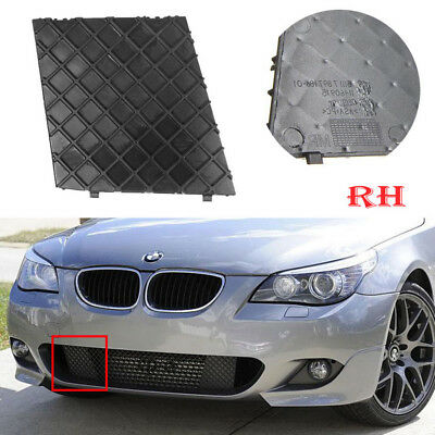 Driving Side Fit BMW E60 E61 M Sport Front Bumper Cover Lower Mesh Grill Right