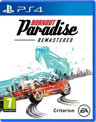 Videogioco Burnout Paradise Remastered Ps4 Gioco Italiano Gta Play Station 4