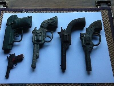 Five Old Collectable Toy Guns.